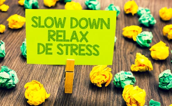 Get yourself stress free
