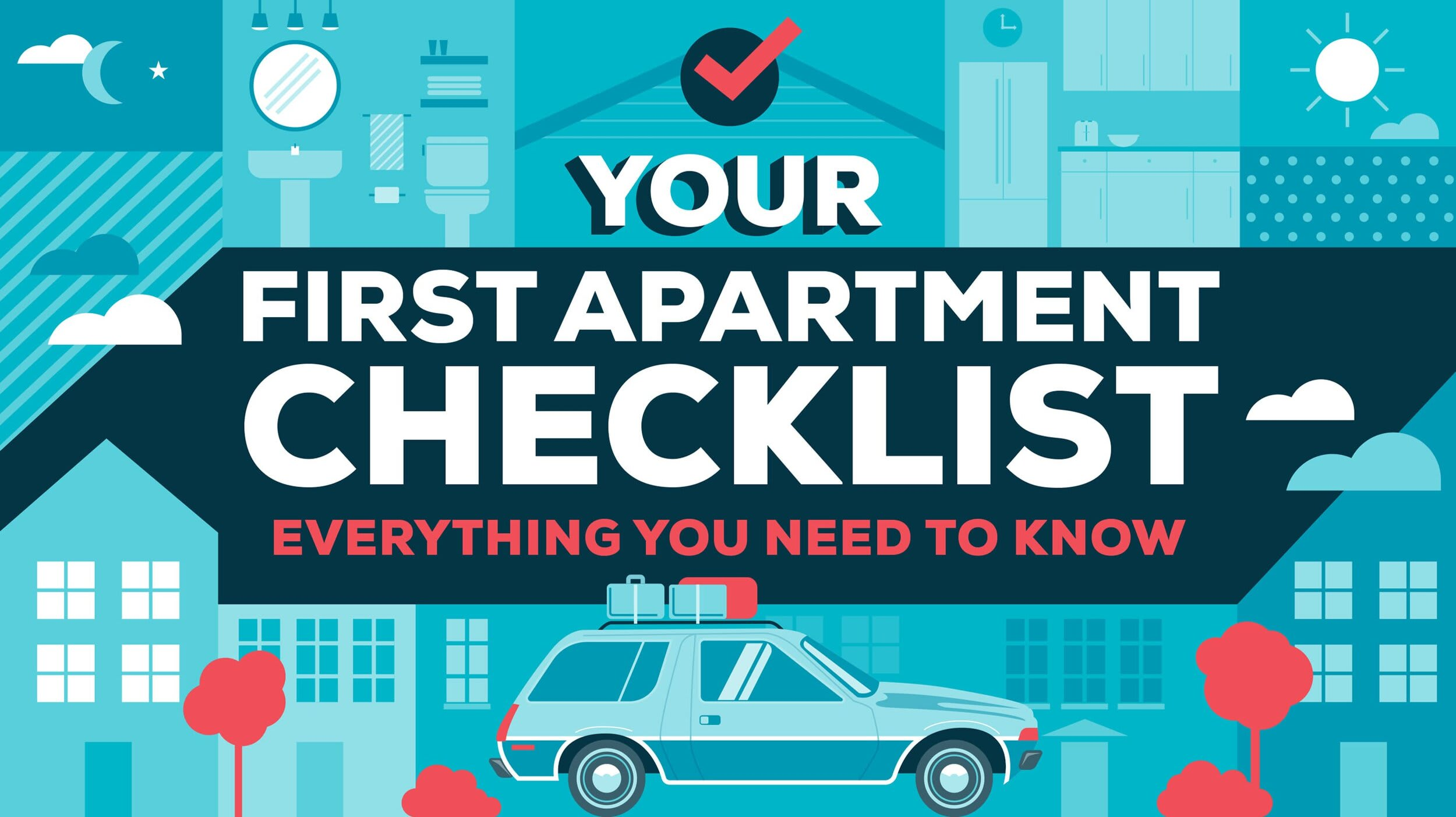 Checklist of must have things for your new house