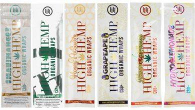 High hemp wraps